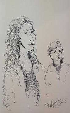 Sarah and Trey